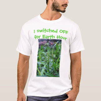 I switched OFF for Earth Hour T-Shirt