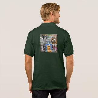 I-T-C AOUTH AIR Tobacco Polo Shirt