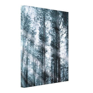 I Talk to the Trees... Canvas Print
