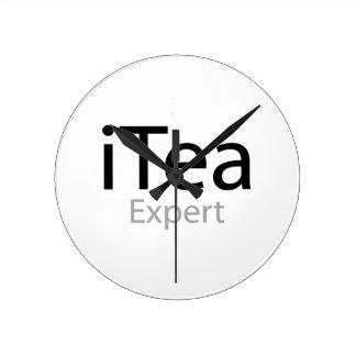 i Tea Expert Wall Clocks