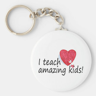 I Teach Amazing Kids Key Ring