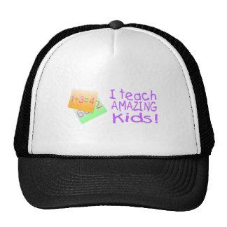I Teach Amazing Kids (Numbers) Cap