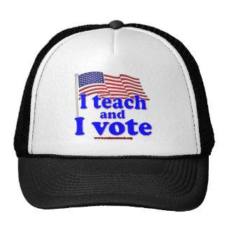 I Teach and I Vote Trucker Hat