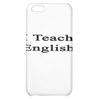 I Teach English iPhone 5C Cover
