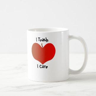 I Teach, I Care Mug