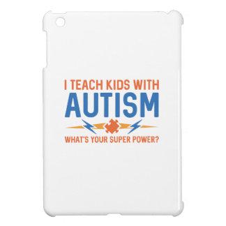 I Teach Kids With Autism iPad Mini Cases