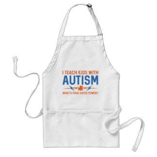 I Teach Kids With Autism Standard Apron