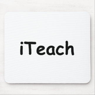 i Teach Mouse Pad