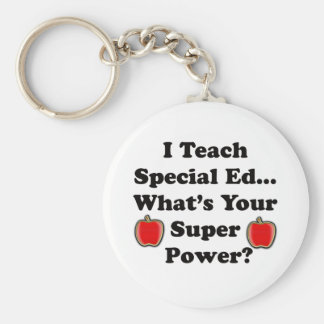 I Teach Special Ed. Key Ring