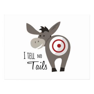 I Tell No Tails Postcard
