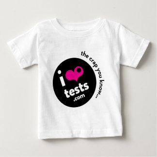 i ❤︎ tests baby T-Shirt