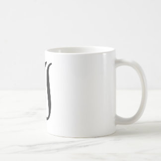 I-text Old English Basic White Mug