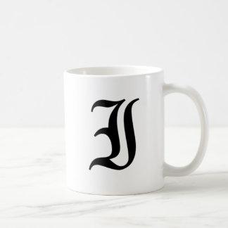 I-text Old English Coffee Mug