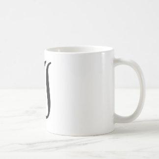 I-text Old English Coffee Mugs