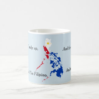 I thank the Lord Filipino Mug