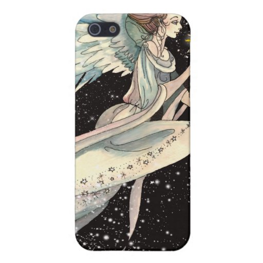 i - The Celestial Body Fantasy Angel Cover For iPhone 5