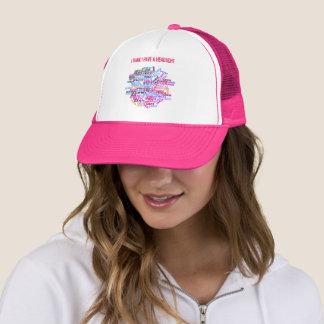 """I Think I Have a Headache"" Trucker Hat"