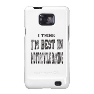 I Think I m Best In Motorcycle Racing Samsung Galaxy S2 Covers