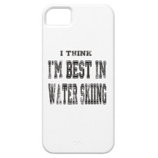 I Think I m Best In Water Skiing iPhone 5/5S Cover