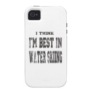 I Think I m Best In Water Skiing iPhone4 Case