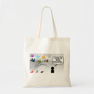 I Think I'm Being Followed Tote Bag