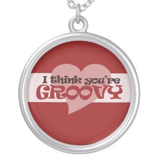 I think you're groovy Valentine Custom Jewelry