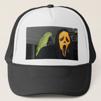 I thought I saw a scary cat Trucker Hat