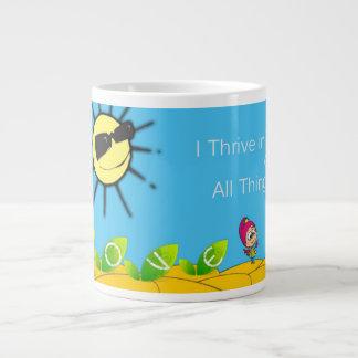 I Thrive! Large Coffee Mug