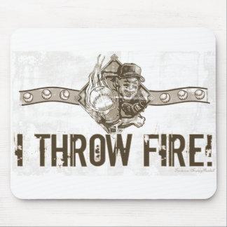 I Throw Fire Mousepad
