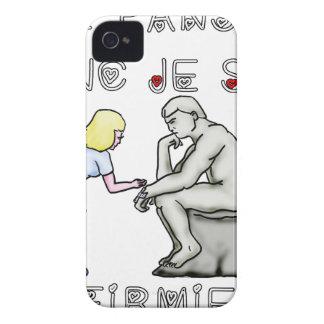 I thus bandage I am (Nurse) - Word games iPhone 4 Case-Mate Case