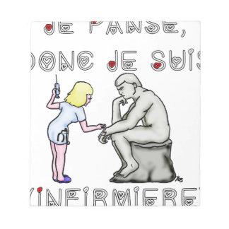 I thus bandage I am (Nurse) - Word games Notepad
