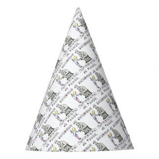 I thus bandage I am (Nurse) - Word games Party Hat