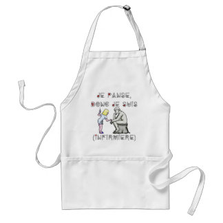 I thus bandage I am (Nurse) - Word games Standard Apron