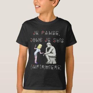 I thus bandage I am (Nurse) - Word games T-Shirt