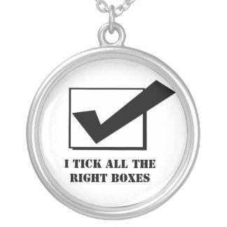 I tick pendant