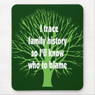 I Trace Family History Mouse Pad