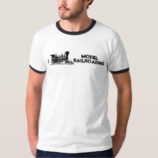 I Train Model Railroading T-Shirt