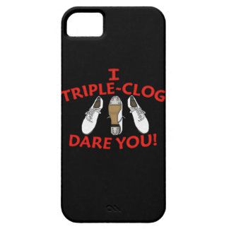 I Triple-Clog Dare You Barely There iPhone 5 Case