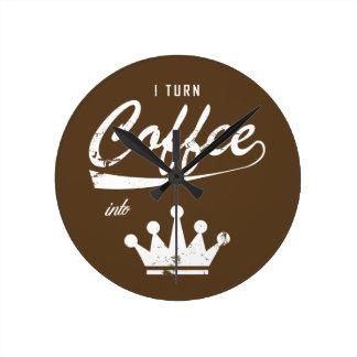 I Turn Coffee Into KOMs Clocks