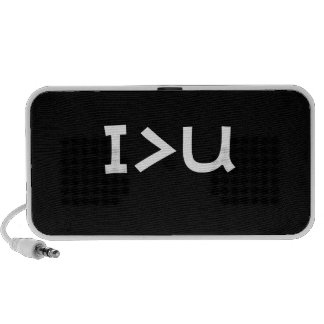 I U speaker for iphone and beyond