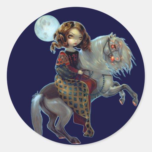 """I Vampiri:  Notte a Cavalla"" Sticker"