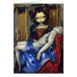 """""""I Vampiri:  Pietà"""" Greeting Card"""