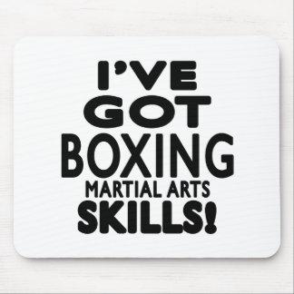 I ve Got Boxing Martial Art Skills Mouse Pad