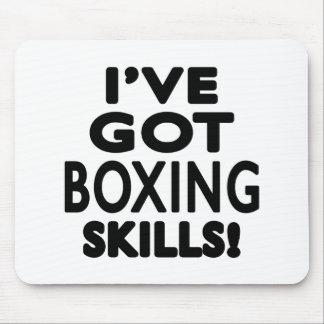 I ve Got Boxing Skills Mousepads
