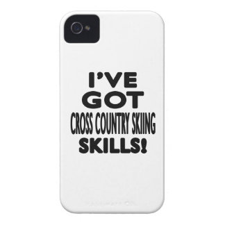 I ve Got Cross Country Skiing Skills iPhone 4 Case-Mate Case
