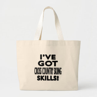 I ve Got Cross Country Skiing Skills Tote Bags