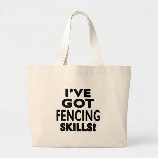 I ve Got Fencing Skills Tote Bag