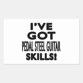 I ve Got Pedal Steel Guitar Skills Rectangle Stickers
