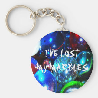 I ve Lost My Marbles Key Chain