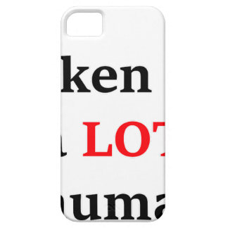 I've spoken to a lot of humans case for the iPhone 5